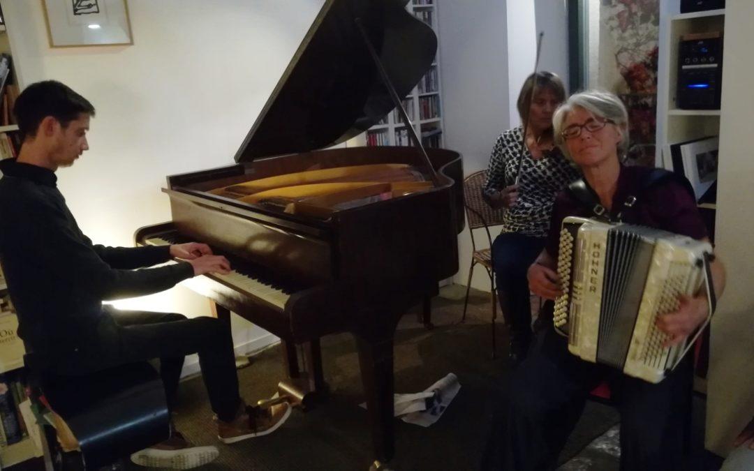 Une soirée jazz improvisé avec Joseph Robinne