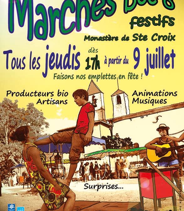 4ème édition des Marchés BeeÔ Festifs cet été à Sainte-Croix!