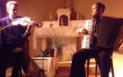 Le Duo Martenitsa en concert à la chapelle de Saint Andéol !