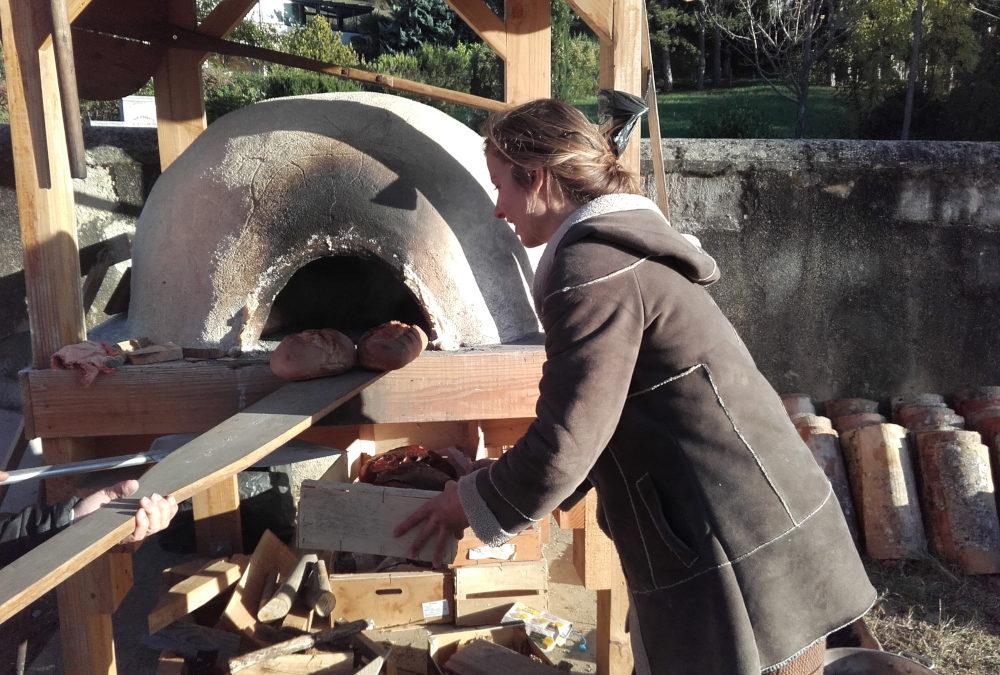 Four à pain de Ste Croix : une inauguration sous le soleil!