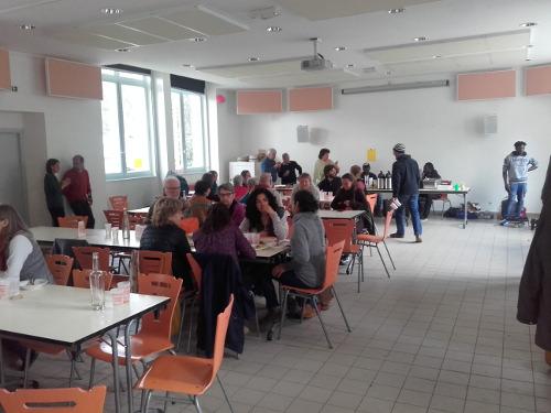 70 personnes pour déguster un fameux mafé à Saint-Julien!