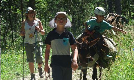 Promenons-nous dans les bois avec nos amis les ânes !