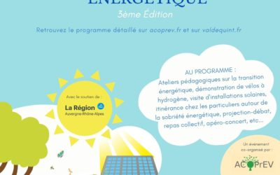 Vendredi 18 et samedi 19 septembre, participez aux « Journées hydrogène & de la transition énergétique » !